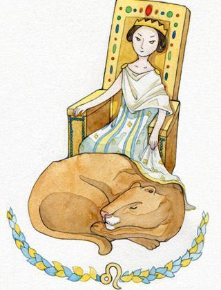 狮子座女生