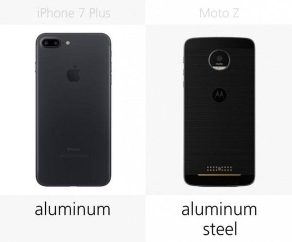 iPhone 7 Plus和Moto Z规格参数对比的照片 - 3