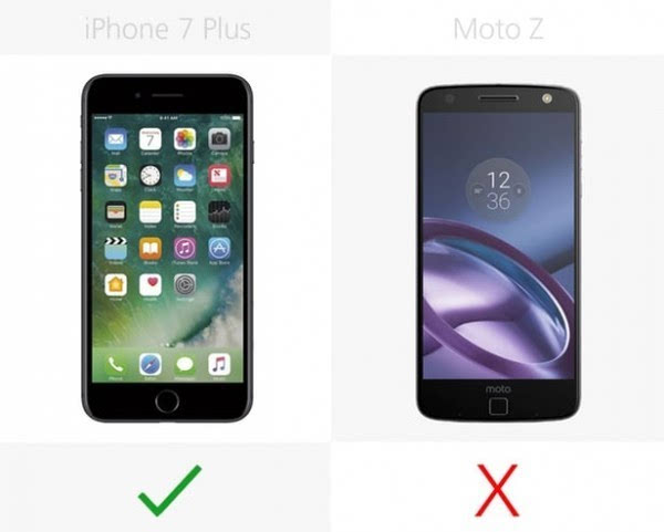 iPhone 7 Plus和Moto Z规格参数对比的照片 - 10