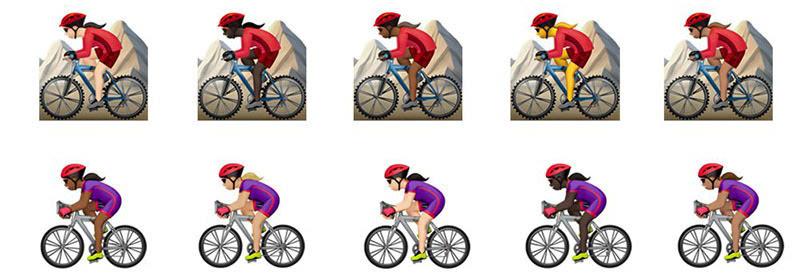 骑行运动矢量图