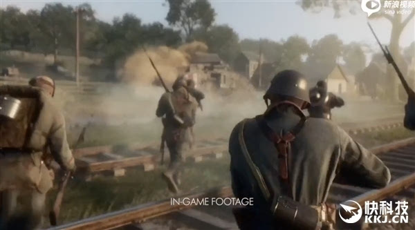 战地1 单人完整预告 电影版梦幻画质