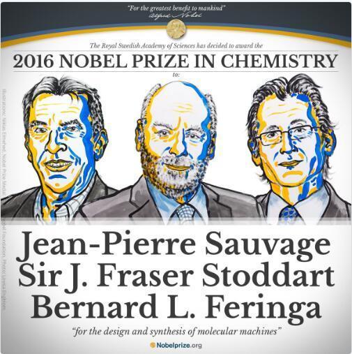 2016年诺贝尔化学奖:分子机器将在未来25-30年内出现的照片 - 1