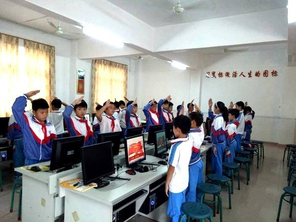 惠州开展 向国旗敬礼 活动 培养青少年爱国主义精神