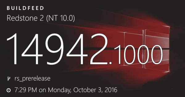 Edge浏览器在Windows 10 14942中崩溃:解决办法放出的照片 - 1