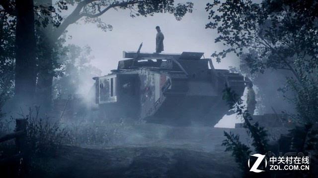 """《战地1》单人战役新演示 坦克攻势无阻"""""""