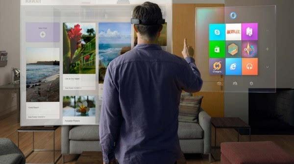 微软首席构想官:微软正研制无需头盔的全息技术