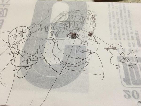 小孩画画风景图片简单