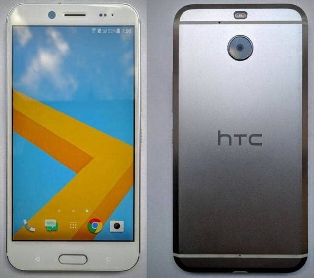 """早报HTC Bolt真机图曝光 无35mm接口"""""""