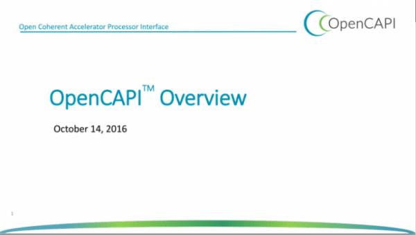 """谷歌、IBM等巨头联合推出新一代总线标准OpenCAPI """""""