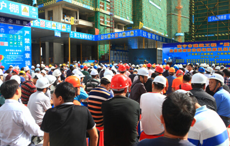 """广西建筑质量月问诊""""常见病"""",新房出现渗漏、裂缝等"""