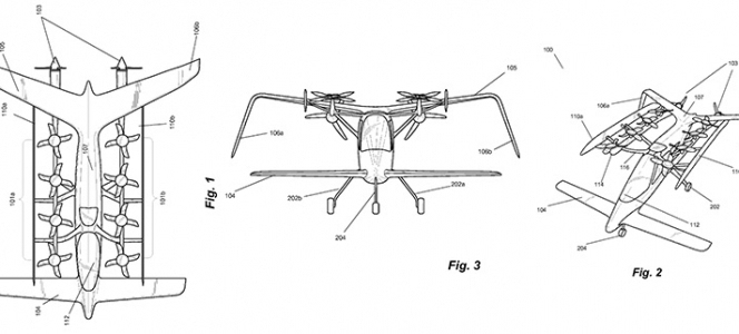 谷歌电动垂直起降飞机问世了