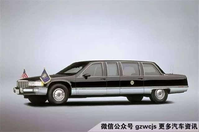 1983年款的凯迪拉克fleetwood豪华轿车现存放于加州西米谷市的里根