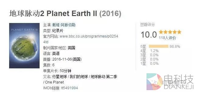 [地球脉动/行星地球第二季更至S02E02] - 2016豆瓣满分神作 HD1080P中英双字