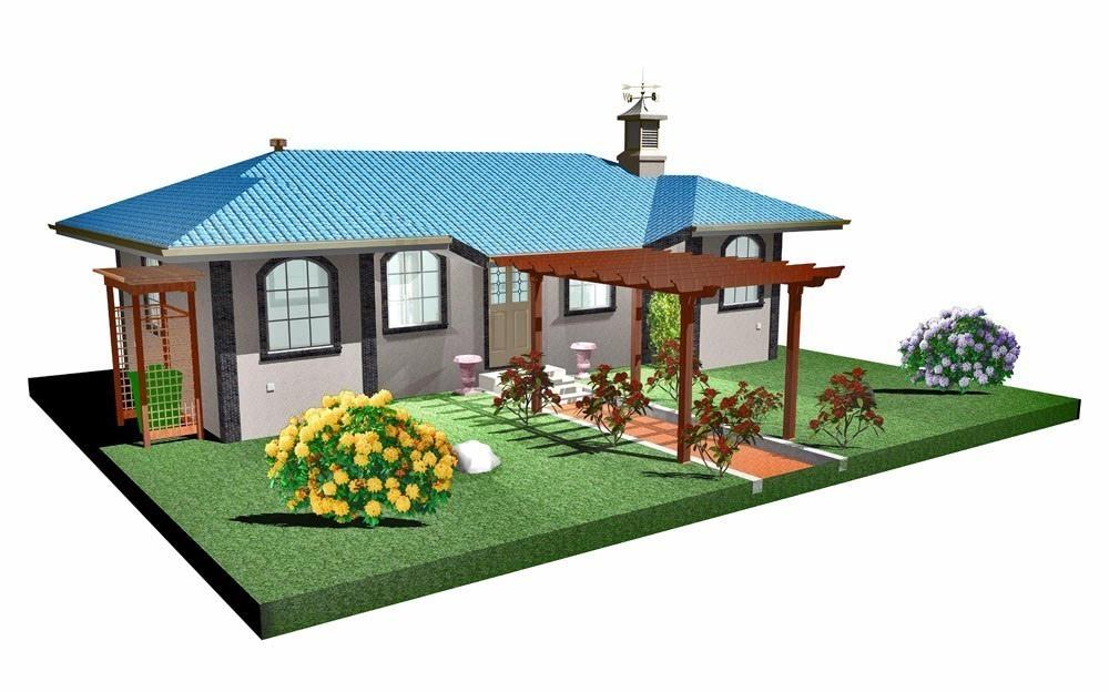独家院房子设计图