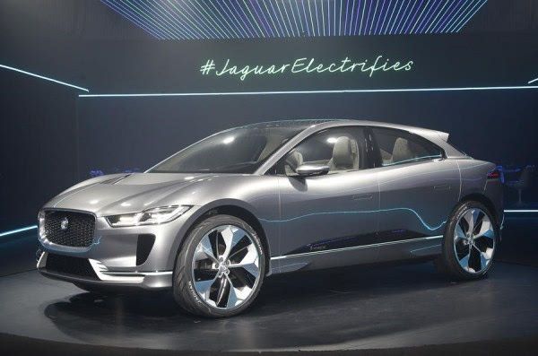 捷豹I-Pace电动概念SUV洛杉矶车展发布 2018年上市的照片 - 1