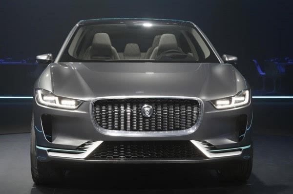 捷豹I-Pace电动概念SUV洛杉矶车展发布 2018年上市的照片 - 2