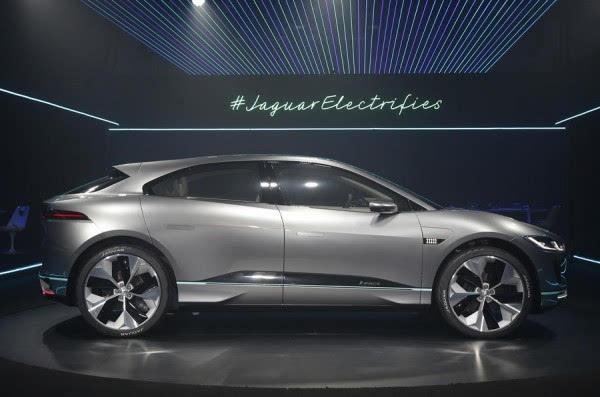 捷豹I-Pace电动概念SUV洛杉矶车展发布 2018年上市的照片 - 3