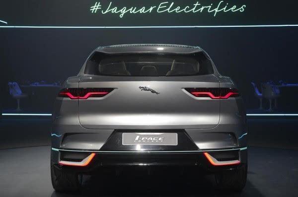 捷豹I-Pace电动概念SUV洛杉矶车展发布 2018年上市的照片 - 4