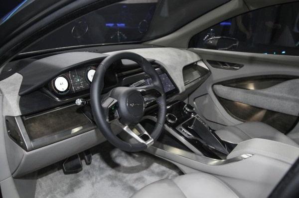 捷豹I-Pace电动概念SUV洛杉矶车展发布 2018年上市的照片 - 5