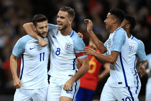 16日足球集锦-英格兰2-2西班牙 德意闷平