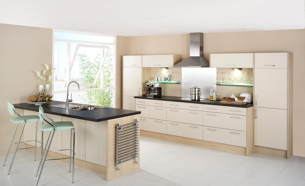 欧式厨房灶头背景