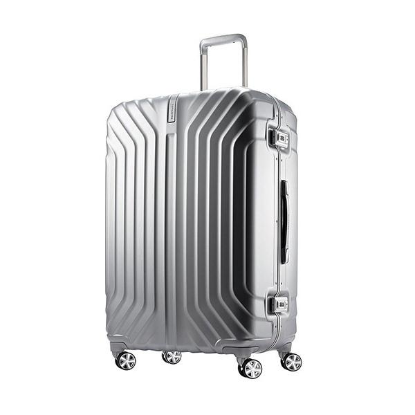 新秀丽 tru-frame 29寸万向轮行李箱采用超薄轻巧的聚碳酸酯结构,结实