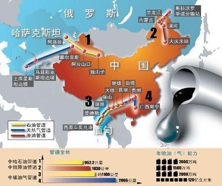 中国 张家界 原油/中缅油气管道是继中亚油气管道、中俄原油管道、海上通道之后的...
