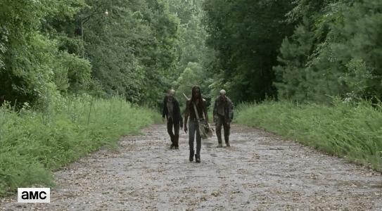 行尸走肉第七季第七集预告:熟悉的刀女再度回归
