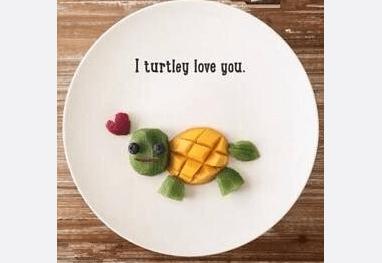 因为没这样做水果拼盘