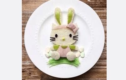 儿童果盘- 因为没这样做水果拼盘