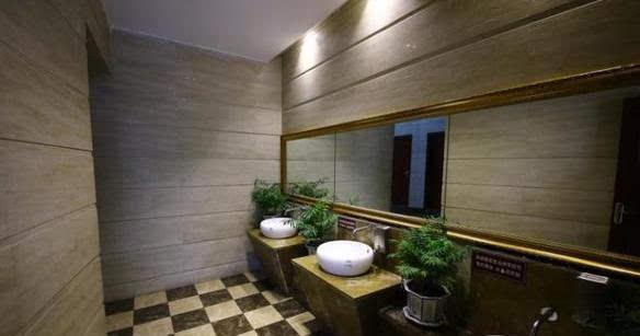 重庆现五星级豪华公共厕所耗资80万 铺满大理石全年26图片