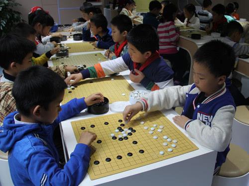 幼儿园围棋活动区图片