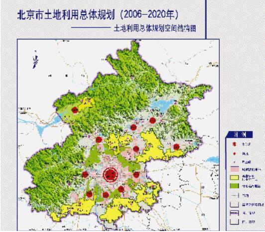 """北京市""""十三五""""时期土地资源整合利用规划"""