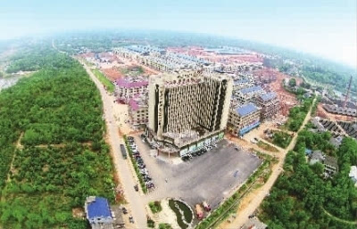 大河西农产品物流园已完成一期工程建设.