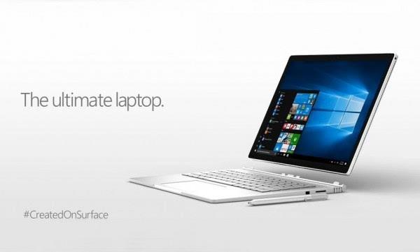 苹果MacBook再次躺枪 微软广告称Surface Book可以做更多的照片