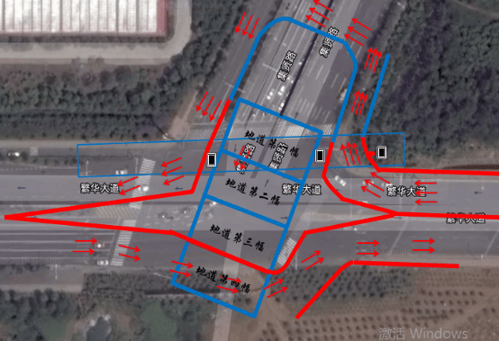 合肥繁华大道与集贤路将半封闭施工 过往车辆请绕行