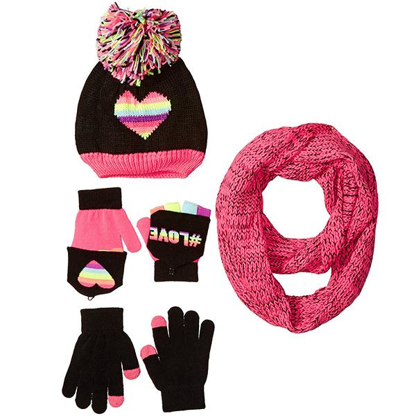 金盒特价 男女过冬必备围巾 手套 帽子全场低至4折