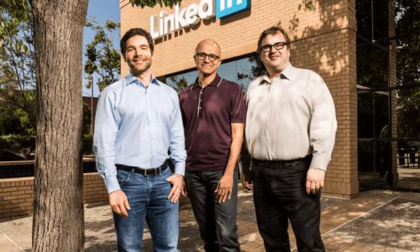 """微软今天完成260亿美元LinkedIn收购案"""""""
