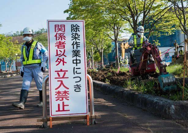 福岛核污染物至今依然没有被完全清理干净,辐射影响完全消退可能需图片