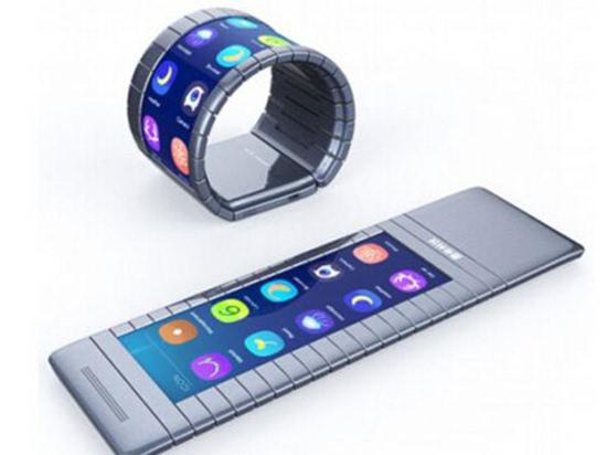 传三星预计在2017年发布可弯曲屏和双屏手机的照片 - 1