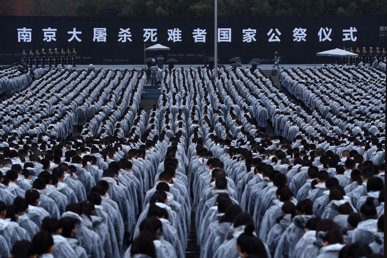 原创:五绝·国祭哀思(新韵、插图)——南京大屠杀80周年祭 - 芳  草  美  人 - 芳 草 美 人