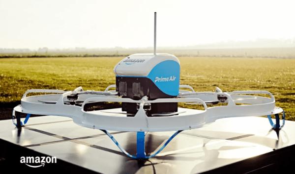 """亚马逊无人机快递服务在英国推出"""""""