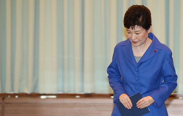 """朴槿惠称""""我知道泣血是什么意思了"""""""