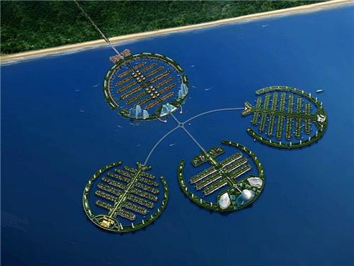与此同时,秦皇岛海边也正在加紧建设三岛——葡萄岛,莲花岛,海螺岛