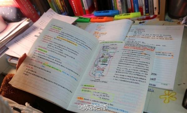 等十余门课程共15本学习笔记,内容详实,条理清晰,配有精美彩色手绘图.