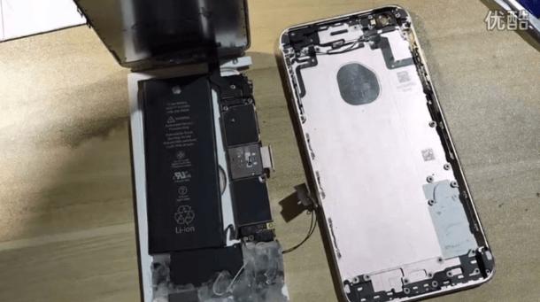"""牛人改装iPhone 6s Plus成苹果MIX缺少指纹识别"""""""