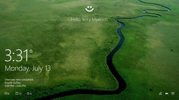微软Windows Hello在2017年将被广泛采用的照片