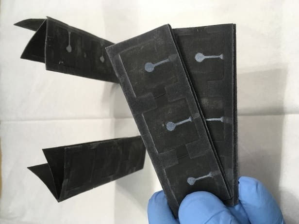 """长得像巧克力的""""细菌电池""""成本低可折叠功率还能"""""""