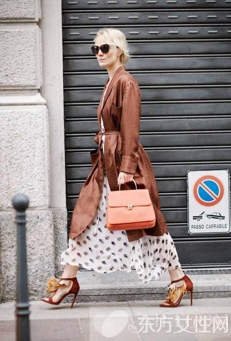 """办公室穿搭怎么才能穿的时髦 学学时尚街拍达人"""""""