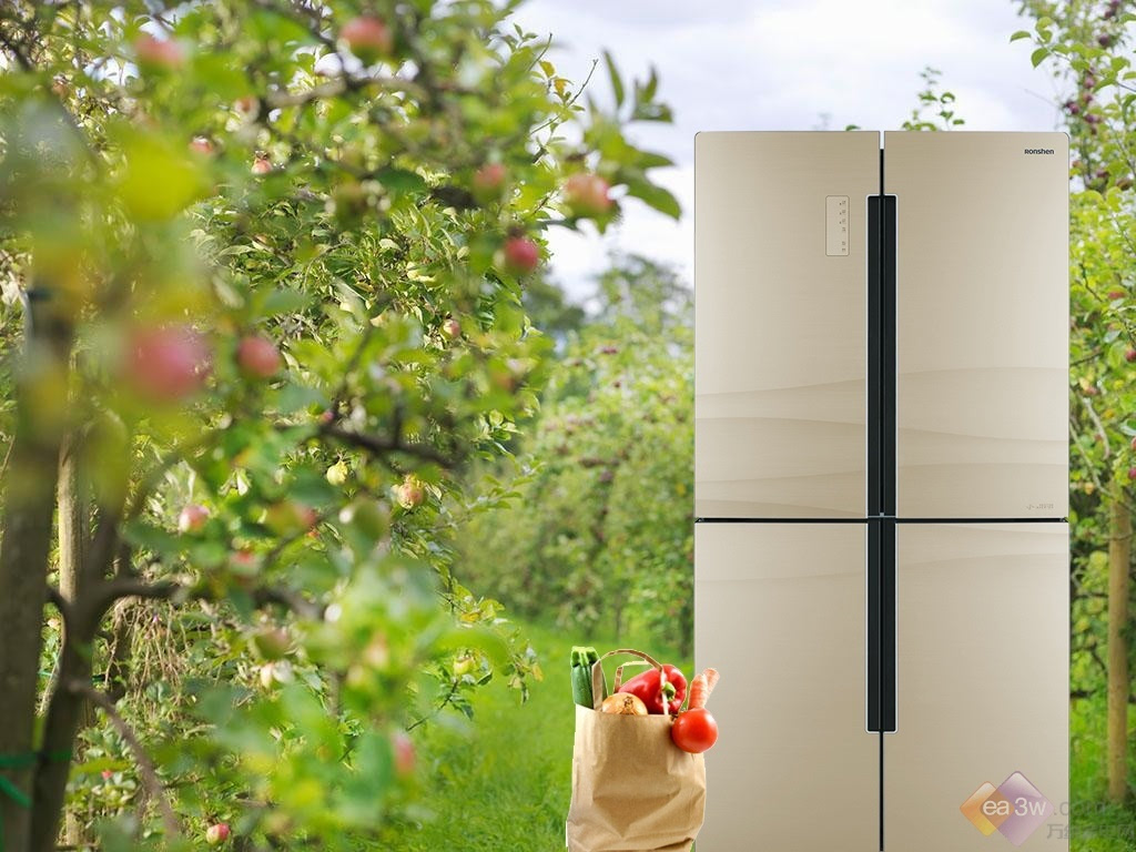 """让食材都住在果园里容声新旗舰冰箱玩得一手好生态"""""""